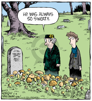 Comic Strip Dave Coverly  Speed Bump 2015-06-04 grave