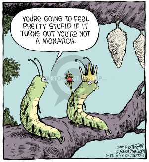 Comic Strip Dave Coverly  Speed Bump 2015-06-12 stupid