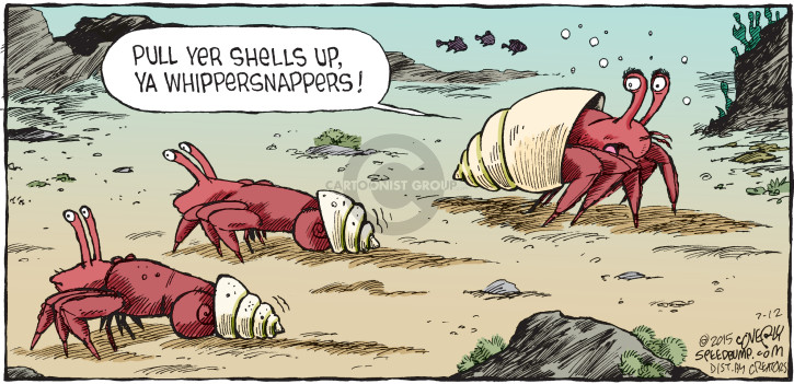 Cartoonist Dave Coverly  Speed Bump 2015-07-12 crab