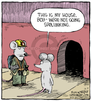 Comic Strip Dave Coverly  Speed Bump 2015-07-07 house