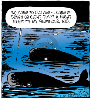 Comic Strip Dave Coverly  Speed Bump 2015-07-10 old age