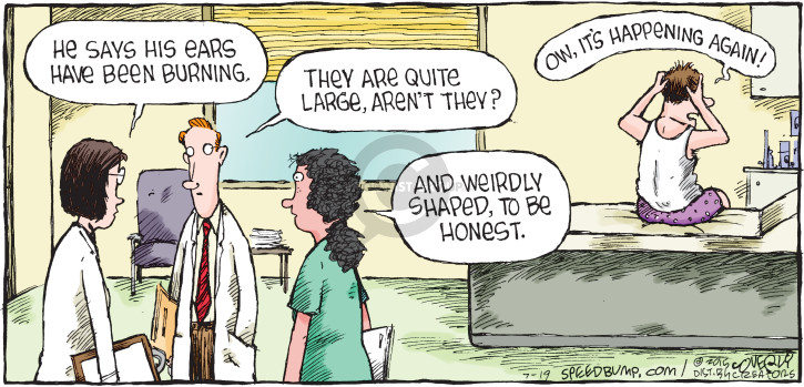 Comic Strip Dave Coverly  Speed Bump 2015-07-19 they