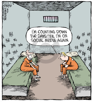 Cartoonist Dave Coverly  Speed Bump 2015-07-16 jail