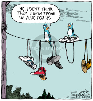 Cartoonist Dave Coverly  Speed Bump 2015-07-27 pair