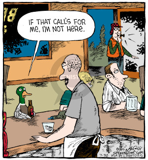 Comic Strip Dave Coverly  Speed Bump 2015-07-30 duck