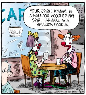 Comic Strip Dave Coverly  Speed Bump 2015-08-18 balloon