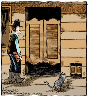 Comic Strip Dave Coverly  Speed Bump 2015-08-19 door
