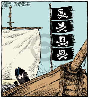 Comic Strip Dave Coverly  Speed Bump 2015-09-04 boat