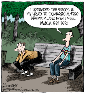 Comic Strip Dave Coverly  Speed Bump 2015-09-05 voice