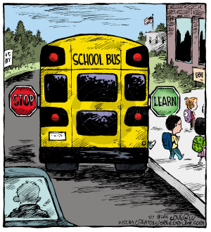 Comic Strip Dave Coverly  Speed Bump 2015-09-07 school