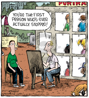 Comic Strip Dave Coverly  Speed Bump 2015-09-09 person