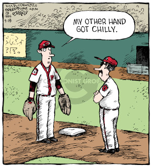 Comic Strip Dave Coverly  Speed Bump 2015-09-18 baseball
