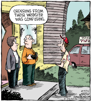 Comic Strip Dave Coverly  Speed Bump 2015-09-25 delivery