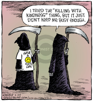 Comic Strip Dave Coverly  Speed Bump 2015-09-26 kindness