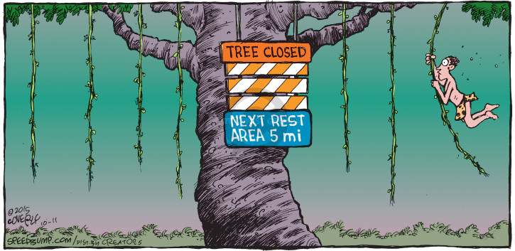 Comic Strip Dave Coverly  Speed Bump 2015-10-11 transportation