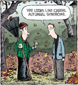 Comic Strip Dave Coverly  Speed Bump 2015-10-26 fall