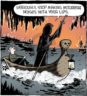 Comic Strip Dave Coverly  Speed Bump 2015-10-31 myth