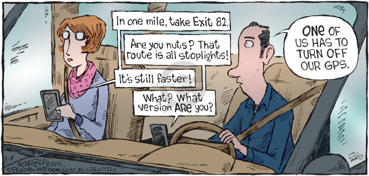 Cartoonist Dave Coverly  Speed Bump 2015-11-08 system