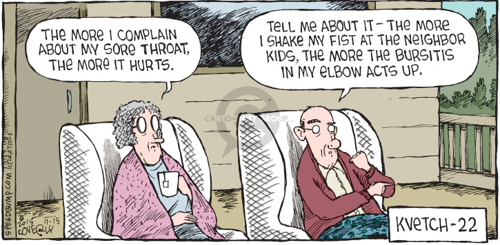 Comic Strip Dave Coverly  Speed Bump 2015-11-15 complain