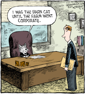 Cartoonist Dave Coverly  Speed Bump 2015-11-09 executive