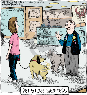 Comic Strip Dave Coverly  Speed Bump 2015-11-11 shopper