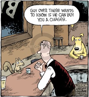 Comic Strip Dave Coverly  Speed Bump 2015-11-13 chase