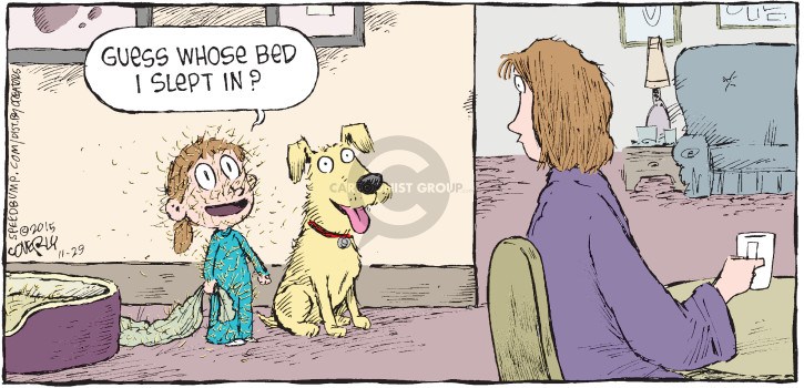 Comic Strip Dave Coverly  Speed Bump 2015-11-29 bed