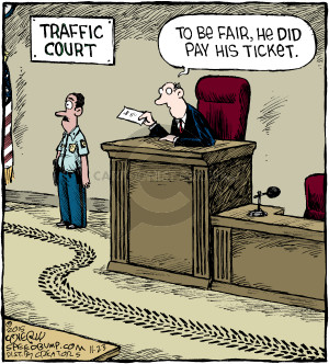 Comic Strip Dave Coverly  Speed Bump 2015-11-23 speeding ticket