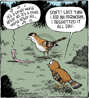 Comic Strip Dave Coverly  Speed Bump 2015-11-25 repetitive