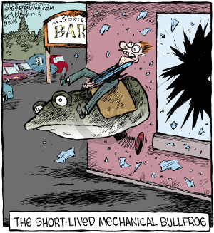 Comic Strip Dave Coverly  Speed Bump 2015-12-05 frog