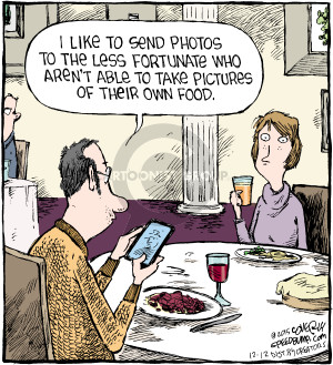 Comic Strip Dave Coverly  Speed Bump 2015-12-12 photograph