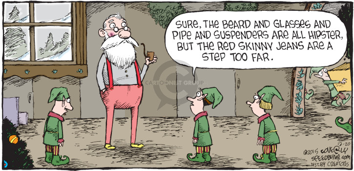 Comic Strip Dave Coverly  Speed Bump 2015-12-20 fit
