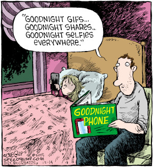 Comic Strip Dave Coverly  Speed Bump 2015-12-14 mobile device