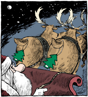 Comic Strip Dave Coverly  Speed Bump 2015-12-25 reindeer