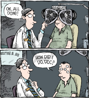 Comic Strip Dave Coverly  Speed Bump 2015-12-28 optometry