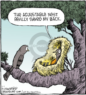 Comic Strip Dave Coverly  Speed Bump 2016-01-01 nest