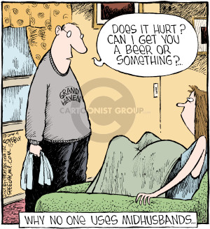 Comic Strip Dave Coverly  Speed Bump 2016-01-07 pregnancy