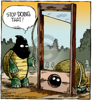 Comic Strip Dave Coverly  Speed Bump 2016-01-13 execution