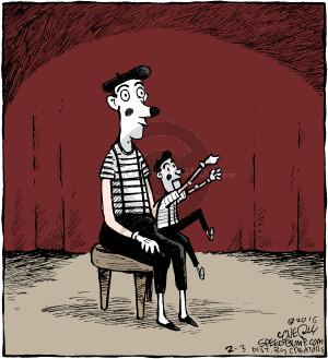 Comic Strip Dave Coverly  Speed Bump 2016-02-03 ventriloquism
