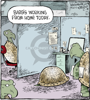 Comic Strip Dave Coverly  Speed Bump 2016-02-08 worker