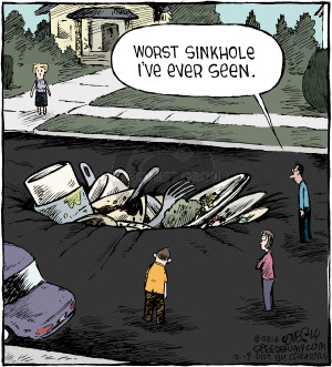 Comic Strip Dave Coverly  Speed Bump 2016-02-09 plate