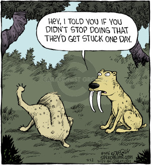 Comic Strip Dave Coverly  Speed Bump 2016-02-12 day