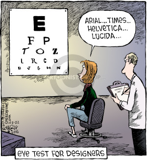 Comic Strip Dave Coverly  Speed Bump 2016-02-22 optometry