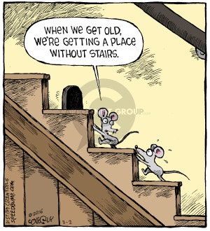 Comic Strip Dave Coverly  Speed Bump 2016-03-02 get