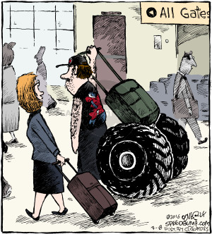 Comic Strip Dave Coverly  Speed Bump 2016-03-08 luggage