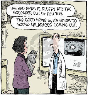 Comic Strip Dave Coverly  Speed Bump 2016-03-24 veterinarian