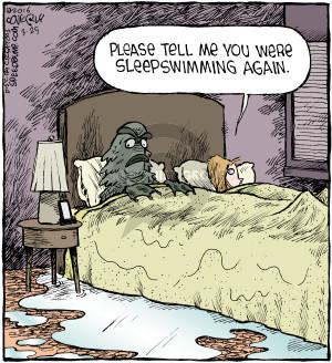 Comic Strip Dave Coverly  Speed Bump 2016-03-25 creature