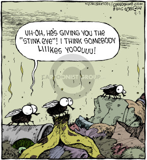 Comic Strip Dave Coverly  Speed Bump 2016-05-07 fly