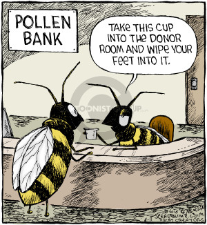 Comic Strip Dave Coverly  Speed Bump 2016-06-11 bee