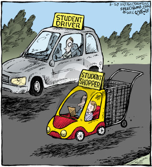 Comic Strip Dave Coverly  Speed Bump 2016-06-20 education